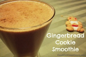healthy Gingerbread-Smoothie